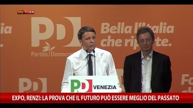 Expo, Renzi: prova che futuro può essere meglio del passato