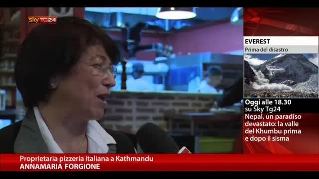 Sisma Nepal, riapre pizzeria italiana a Kathmandu