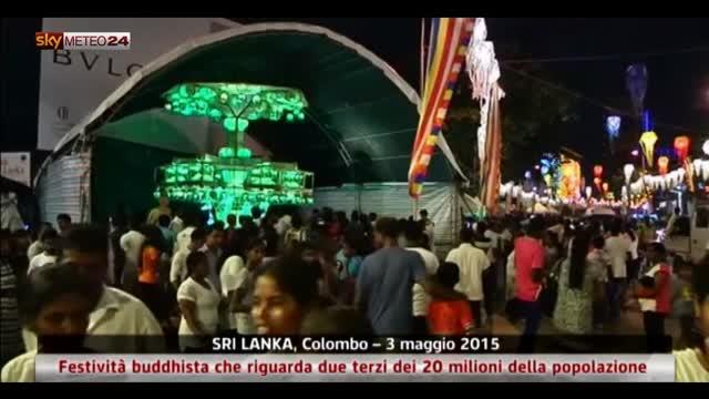 Sri Lanka, festività buddhista per i 2/3 della popolazione