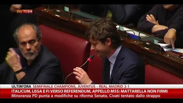 Italicum, Lega e Forza Italia verso il referendum