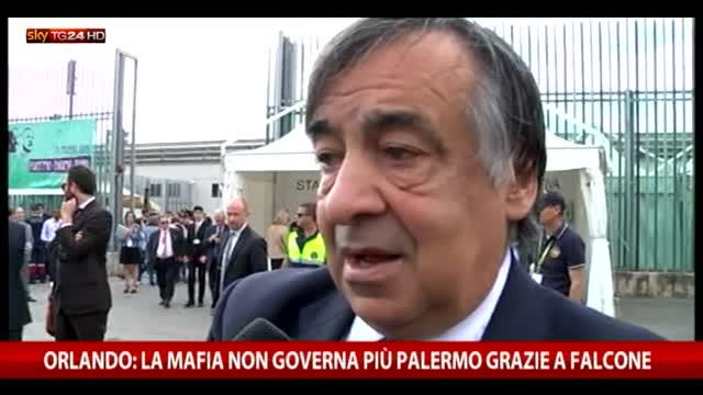 """Orlando: """"La mafia non governa più a Palermo"""""""