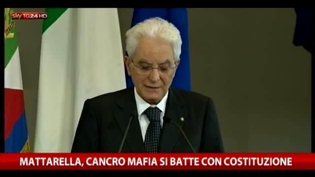 """Mattarella ricorda Falcone: """"Uomini passano, idee restano"""""""