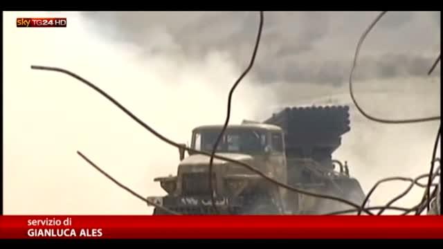 Bandiera Isis sventola su Palmira, coalizione compie 22 raid