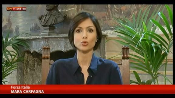 L'intervista di Maria Latella a Mara Carfagna