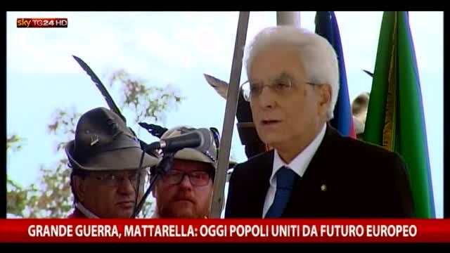 """Mattarella: """"Oggi popoli uniti da futuro europeo"""""""