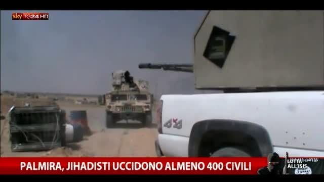 Palmira, jihadisti uccidono almeno 400 civili