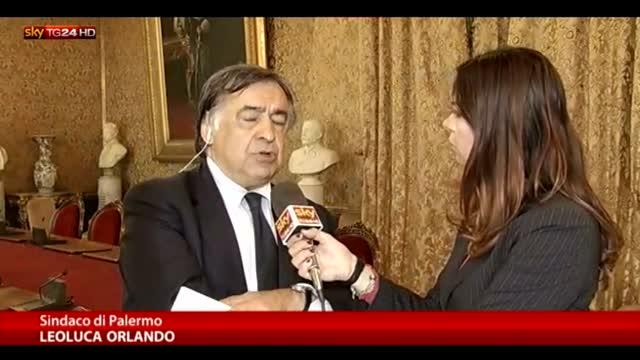 Orlando a Sky TG24:  vergogna per ciò che accade in Sicilia