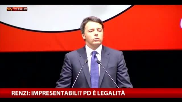 Renzi: Pd ha fatto legge anticorruzione con pene più dure