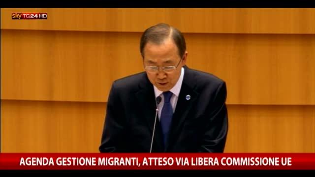 Migranti, via libera commissione Ue ad agenda immigrazione