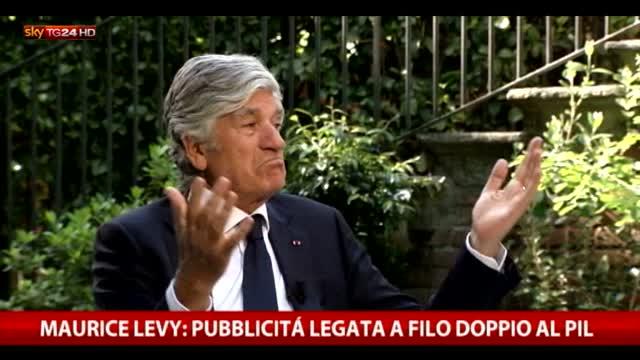 Intervista a Maurice Levy, presidente del gruppo Publicis