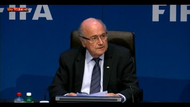 """Blatter: """"Mi prendo la responsabilità di questa tempesta"""""""