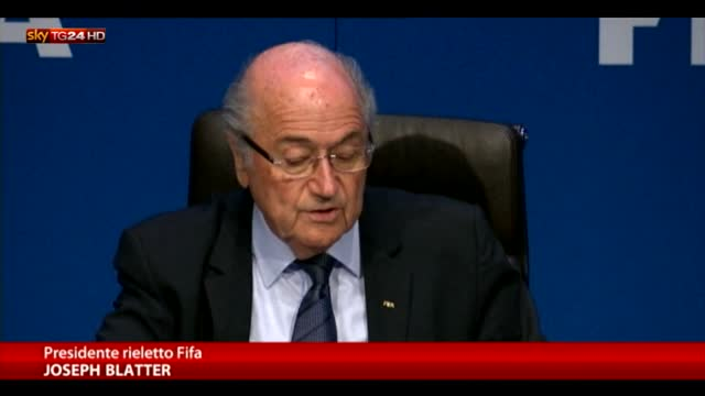 """Blatter: """"Se succede qualcosa il responsabile sono io"""""""