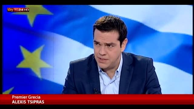 Grecia, Tsipras: referendum sia continuazione negoziati
