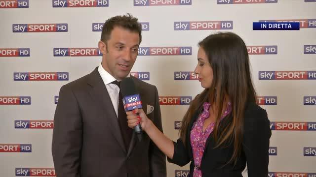 """Che talent per Sky, Del Piero: """"Sono in una grande squadra"""""""