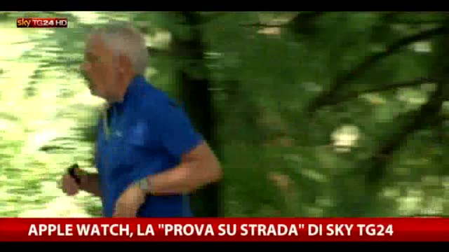Apple Watch, la prova su strada di Sky Tg24