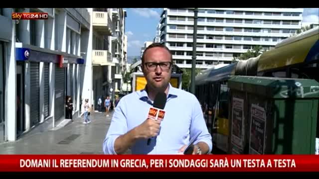 Grecia, un paese diviso alla vigilia del voto