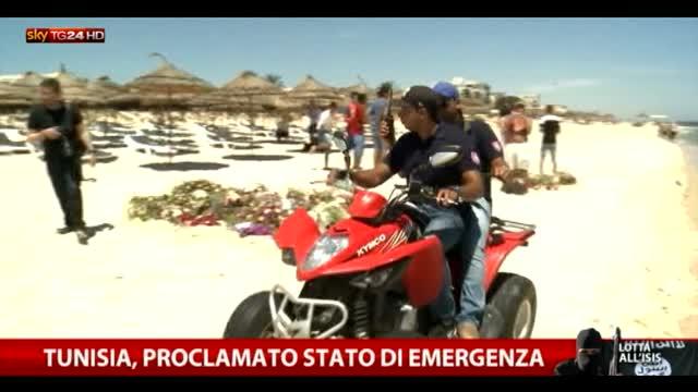 Tunisia, proclamato lo stato d'emergenza