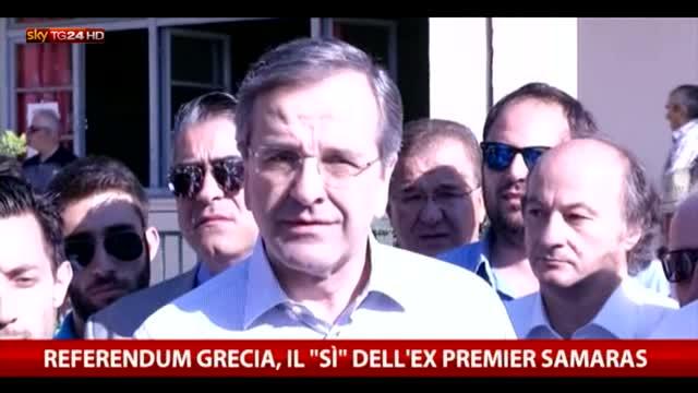 """Samaras: """"I greci decidono il destino del proprio Paese"""""""
