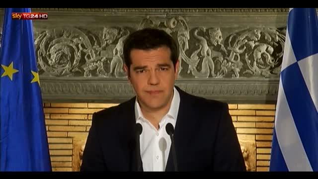 Grecia, Tsipras: ora accordo per uscire da austerity
