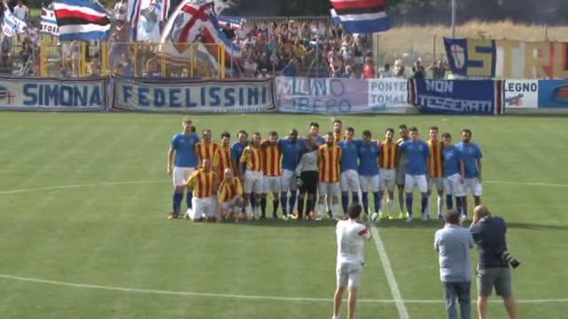 Amichevole, Sampdoria-Alta Valle 10-0