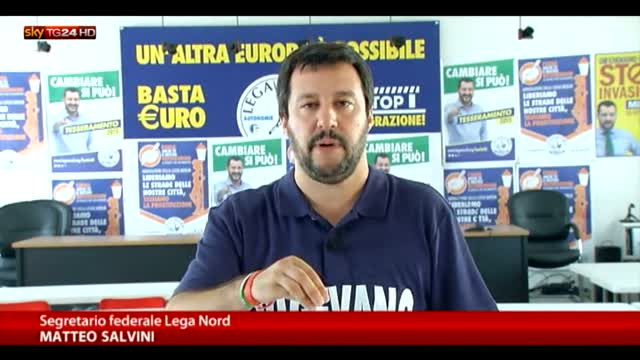 """Salvini: """"Tsipras deve andare fino in fondo"""""""