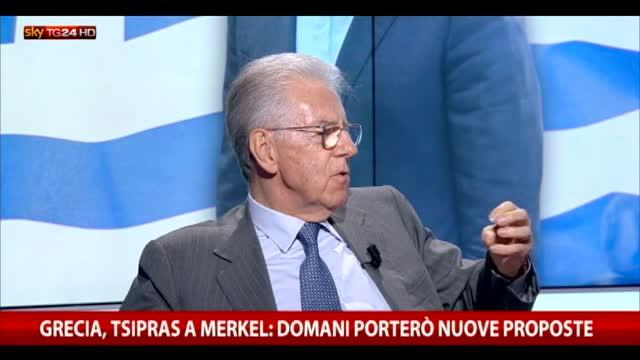 Referendum Grecia, Monti: da Tsipras mossa tattica e cinica