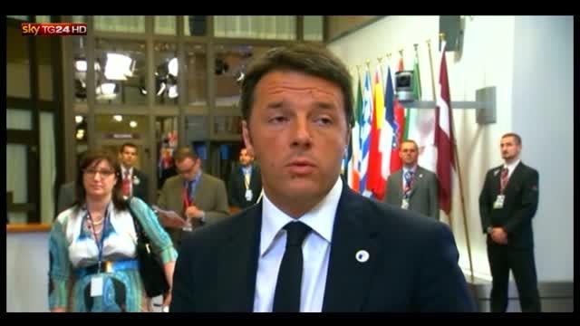 Grecia, Renzi: Europa non resti vittima sue procedure