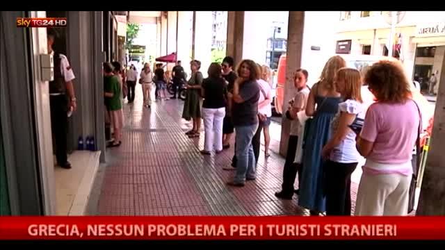 Grecia, nessun problema per i turisti stranieri
