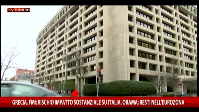 Grecia, FMI  rischio impatto sostanziale su Italia