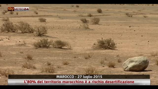 Desertificazione in Marocco