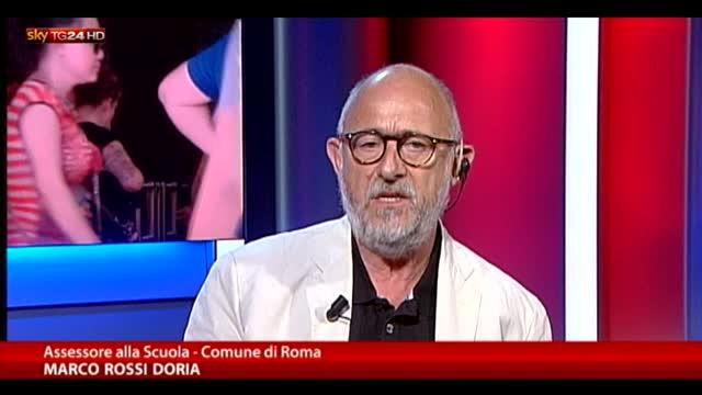 """Rossi Doria: """"Lavoriamo coi cittadini, non siamo isolati"""""""