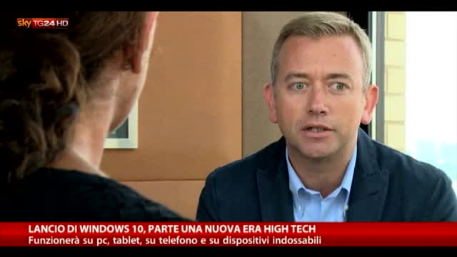 Lancio di Windows 10, parte una nuova era high tech