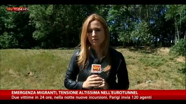 Emergenza migranti, alta tensione nell'Eurotunnel