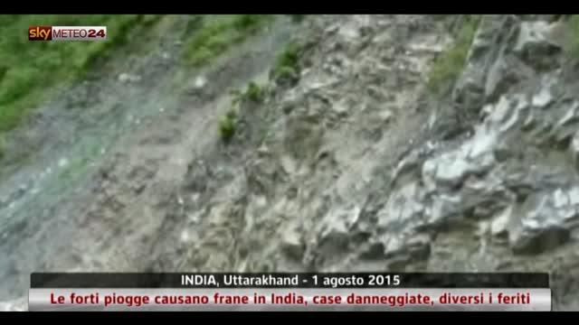 Maltempo sull'India settentrionale
