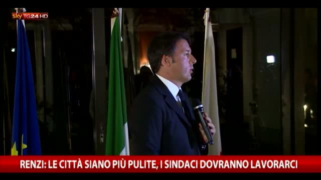"""Renzi: """"Basta piangersi addosso, soprattutto al Sud"""""""