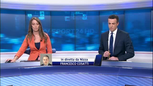 Nizza-Napoli, scontri in autostrada prima dell'amichevole