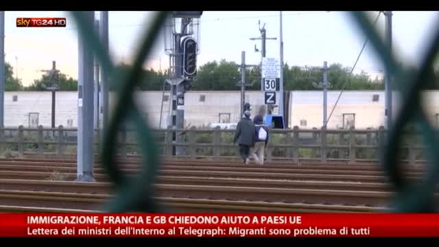 Immigrazione, Francia e Gb chiedono aiuto a paesi Ue