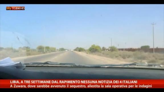 Libia, silenzio sui 4 tecnici italiani rapiti