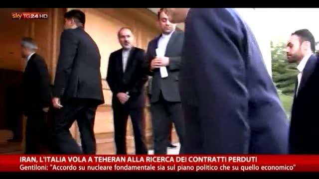 L'Italia vola in Iran alla ricerca dei contratti perduti