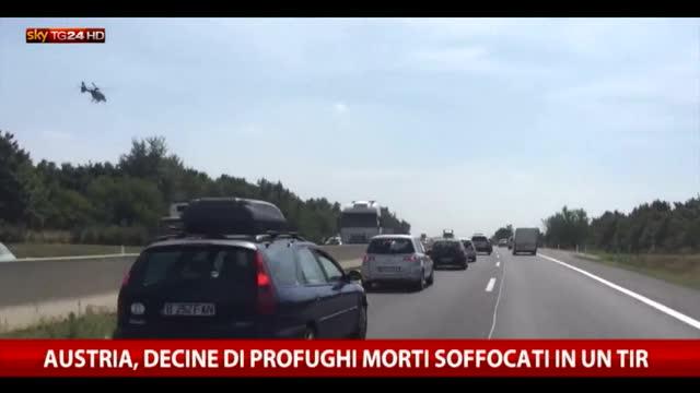 Orrore in Austria, decine di migranti asfissiati in un tir
