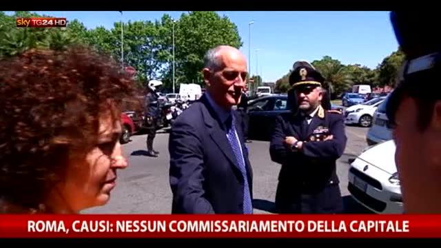 """Roma, Orfini: """"Marino non è commissariato"""""""