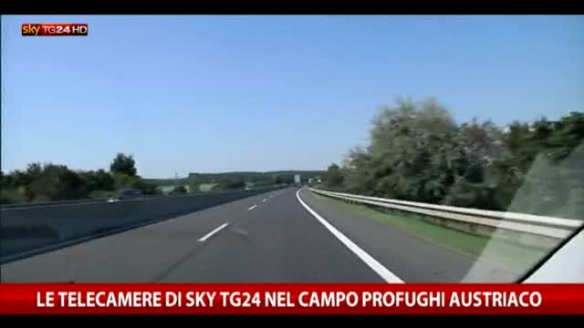 Austria, il reportage di Sky TG24 nel campo profughi