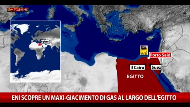 Eni scopre un maxi-giacimento di gas nel Mediterran