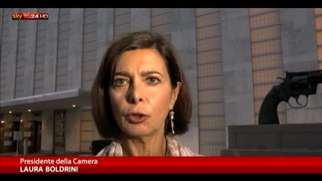 Migranti, Boldrini: muri non servono