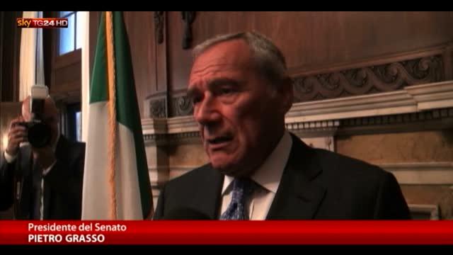 Amnistia, Grasso: parlamento affronti questo tema
