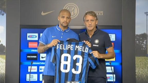 """Inter, ecco Melo: """"Trovo una squadra che ha tanta fame"""""""