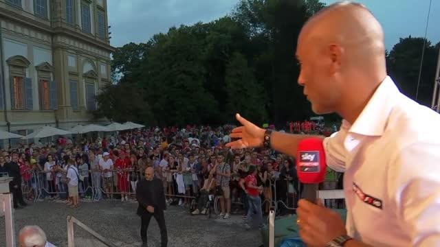 #SFmeets, quanto entusiasmo a Monza per Seb e Kimi