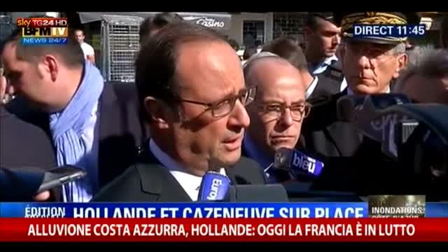 """Hollande: """"Oggi la Francia è in lutto"""""""