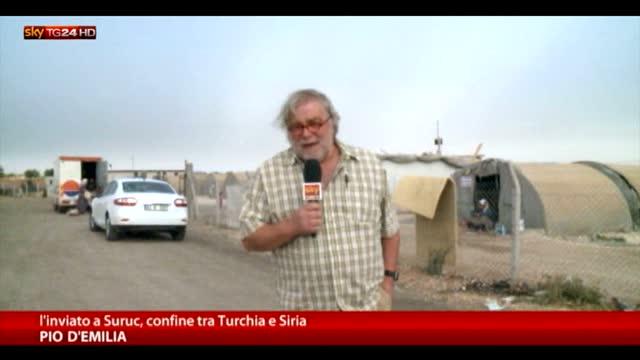 Suruc, 500mila profughi siriani in condizioni precarie