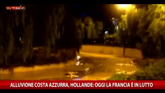 Alluvione Costa Azzurra, sarà dichiarato stato calamità